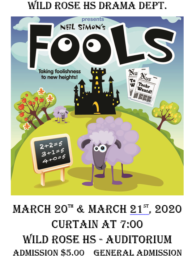 Spring Play - Fools by Neil Simon